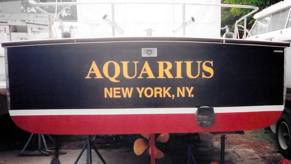Boat and Marine Lettering